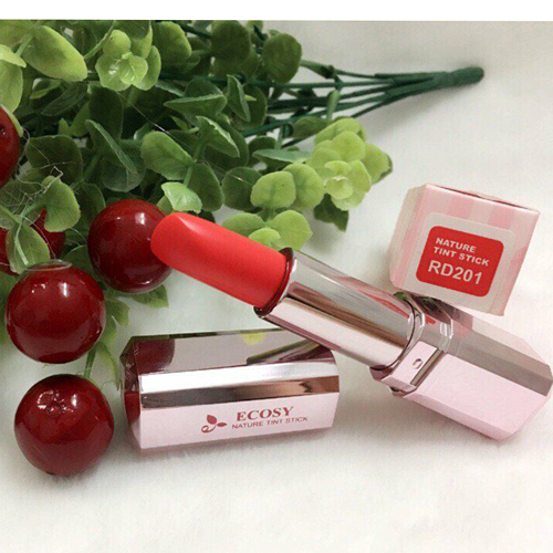 Son Môi Hàn Quốc Ecosy Nature Tint Stick The Collagen