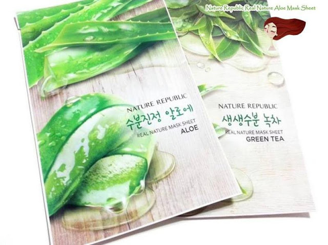 Mặt nạ lô hội Nature Republic Real Nature Aloe Mask Sheet
