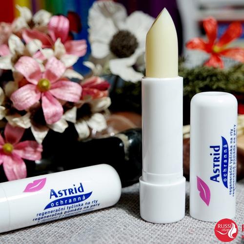 Son Astrid  dưỡng môi từ mỡ hươu vitamin E