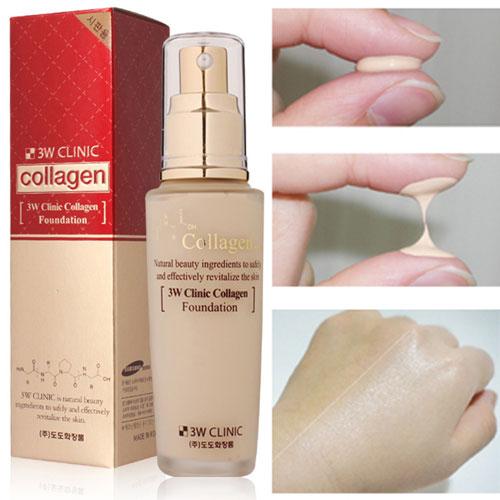 Kem Nền Collagen 3W Clinic Hàn Quốc