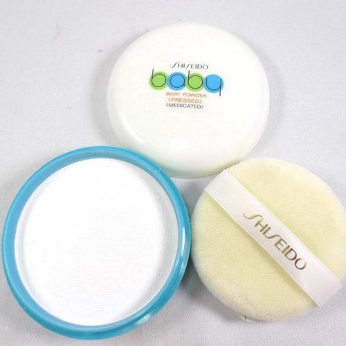 Phấn rôm Shiseido Baby powder Pressed Nhật