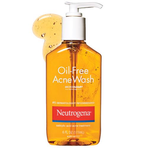 Sữa Rửa Mặt Trị Mụn Neutrogena Oil Free Acne Wash USA