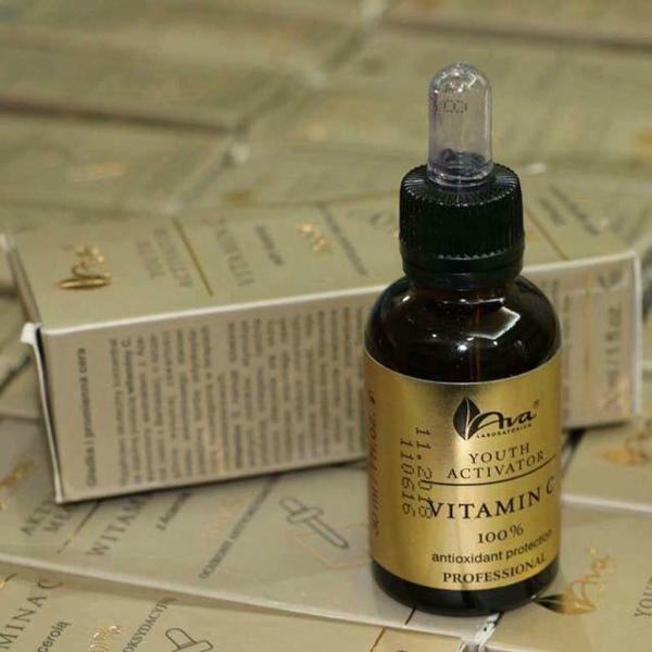 Serum Vitamin C trắng da, trị thâm nám Ava Youth Activation
