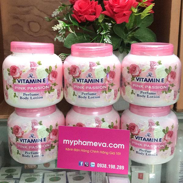 Kem Dưỡng Thể Hương Nước Hoa AR Vitamin E Perfume Body Lotion Thái Lan