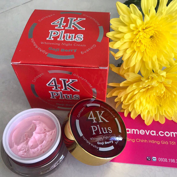 Kem Trị Mụn 4K Plus Goji Berry Thái Lan