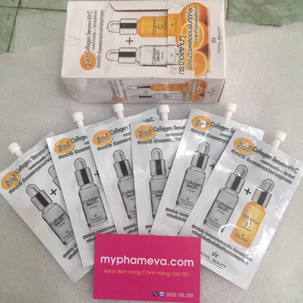 Serum Collagen Vitamin C Dưỡng Trắng Da Chống Lão Hóa Thái Lan