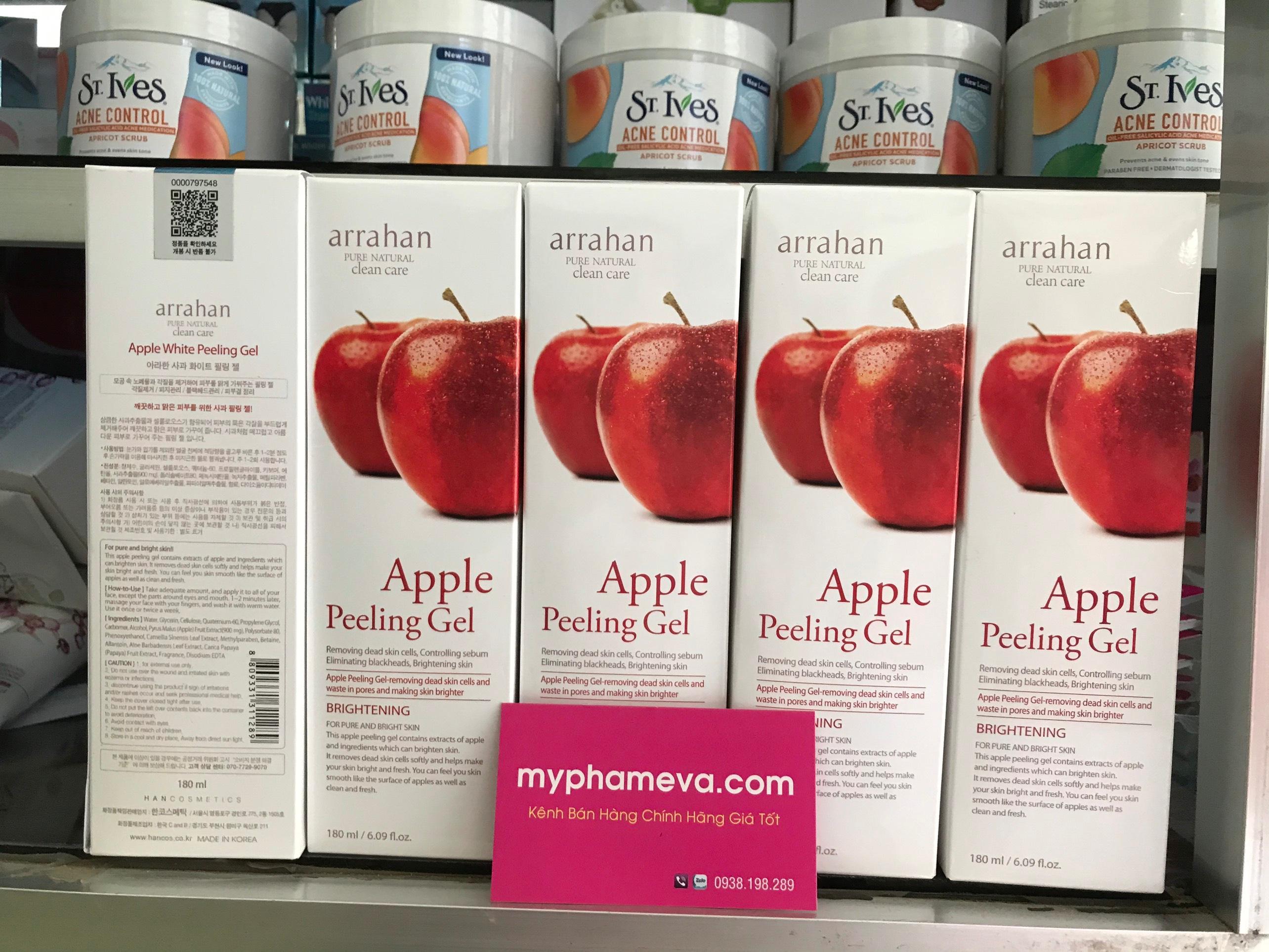 cham-soc-mat-kem-tay-te-bao-chet-arrahan-apple-peeling-gel-han-quoc-23941